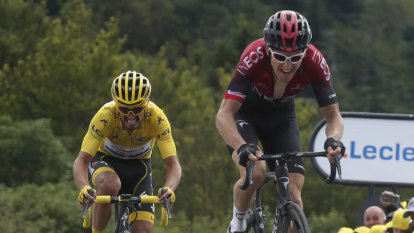 Thomas confident after stretching his legs in punishing stage finish