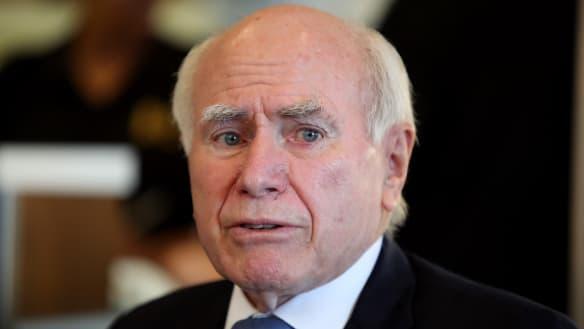 John Howard wants more female Liberals, calls quotas 'patronising'