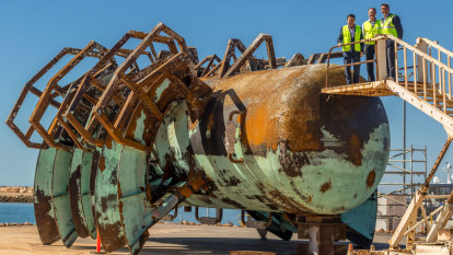 Angling for interest: WA Fisheries Minister calls for artificial reef builders north of Perth