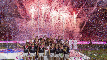The NRL grand final will remain in Sydney.