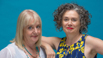 """It's the price I pay"": the line Judith Lucy can't cross with Denise Scott"