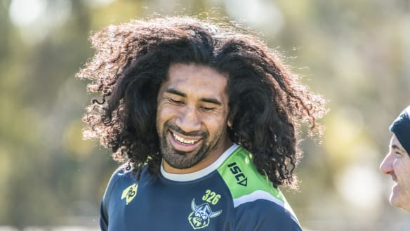 Canberra Now: Soliola's desire to help; 'Tired' city centre slammed