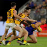 Hurley on track as Bombers build plan from Hawks' win over Eagles