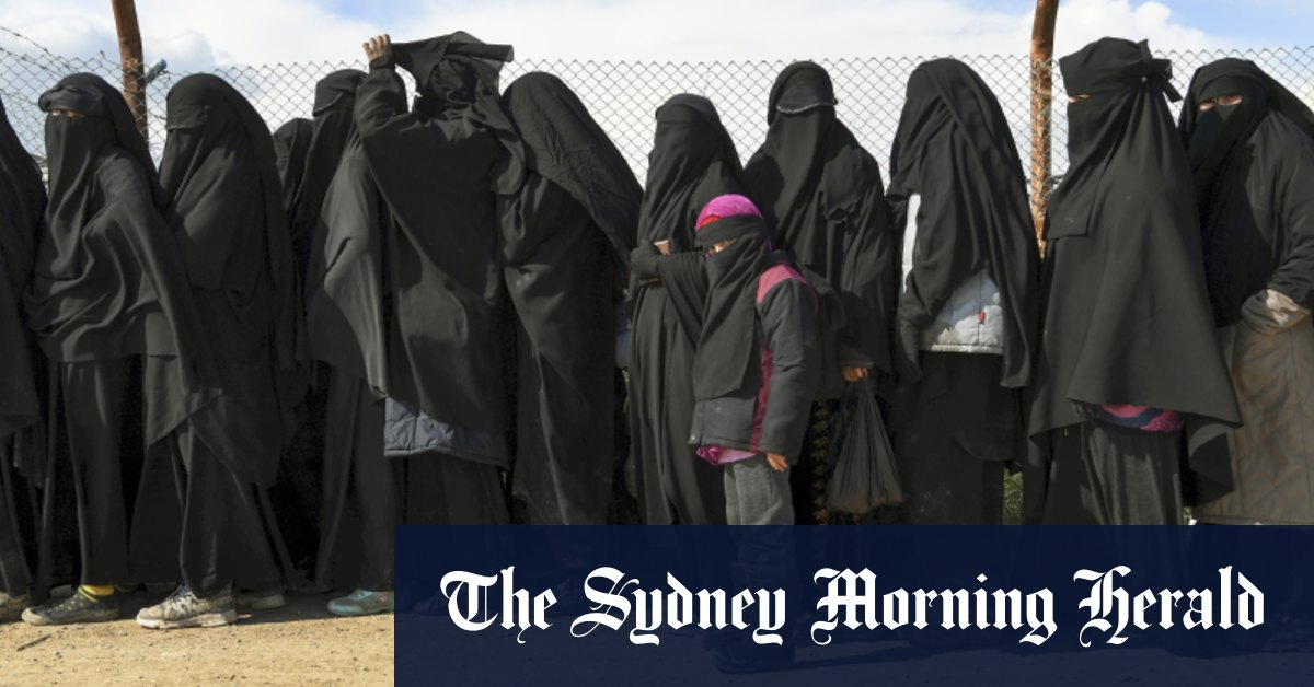 'It's complicated': Australia hardens stance against IS wives children – Sydney Morning Herald