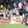 Dockers belt Pies, boost AFLW title claims
