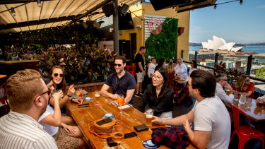 The Glenmore Hotel's rooftop bar has been a saving grace during the pandemic.
