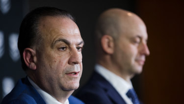 Peter V'landys and Todd Greenberg aren't seeing eye to eye at the moment as discussion around the future leadership of the game heats up.
