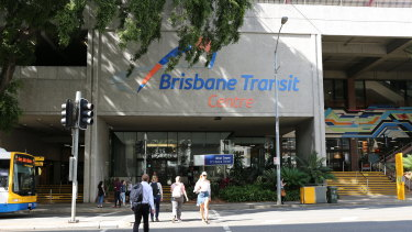 The Brisbane Transit Centre will be demolished over the coming months.