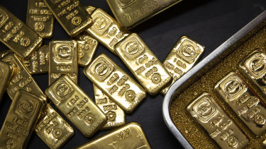 The price of gold surged to a record high earlier this week.