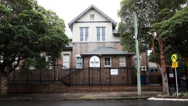 An empty Rose Bay Public School on Friday.