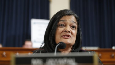 Washington Democrat Pramila Jayapal.