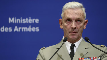 French Army Chief of Staff General Francois Lecointre discusses the loss of life.