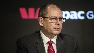Westpac's incoming acting chief executive Peter King.
