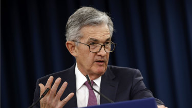 Jerome Powell's statement sent shivers through the US and Australian sharemarkets this week.