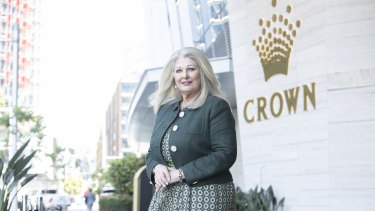 """Crown's executive chairman Helen Coonan on Friday pledged to address any """"shortcomings"""" identified by the royal commission, and said her board had enacted a """"sweeping program of significant reforms""""."""