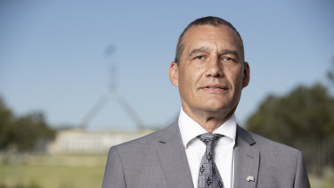 Retired vet and joint Australian of the Year, Craig Challen.