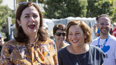 Queensland Premier Annastacia Palaszczuk and deputy premier Jackie Trad will hand down the state's budget on June 11.