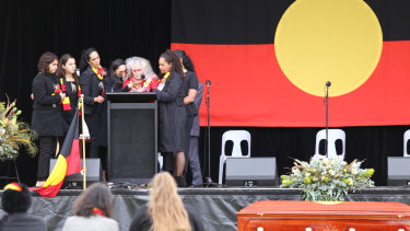 Many Indigenous leaders paid tribute to Uncle Lyall Munro's legacy.