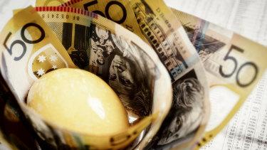 The Hayne royal commission scrutinised industry superannuation.