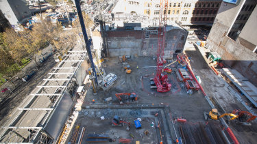 CIMIC is helping to build Melbourne's new Metro Tunnel.