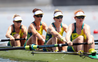 The Australian quartet added Olympic gold to their world title