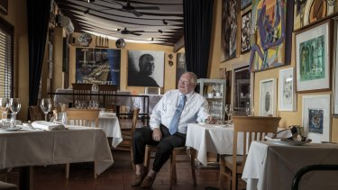 Legendary Paddington restaurateur Lucio Galletto is retiring and auctioning off some of the artworks he has collected over 37 years.