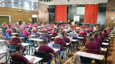 The country's NAPLAN test has been reviewed.