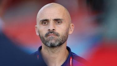 Kangaroos coach Rhyce Shaw has left the club.