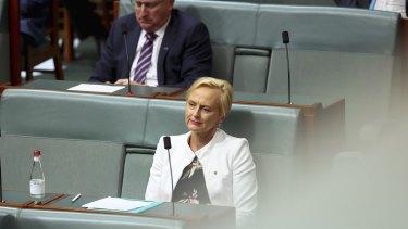 Dr Katie Allen in Parliament House