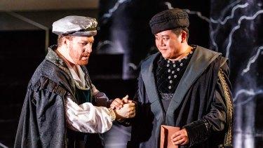 Boyd Owen and Henry Choo (Iago).