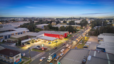 The 7-Eleven leased fuel site at Clyde on Sydney's Parramatta Road sold for $3.9 million.