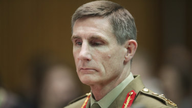 The Chief of the Defence Forces, Angus Campbell, has warned democracies are more vulnerable to so-called political warfare.