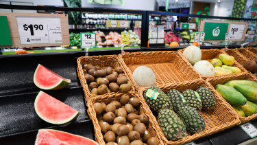 The coronavirus pandemic may trigger higher prices for imported produce such as kiwifruit and oranges.