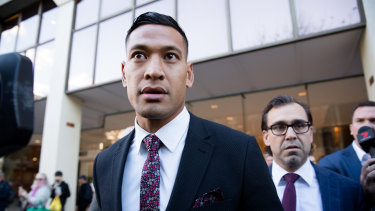 Israel Folau has taken Rugby Australia to court for wrongful dismissal.