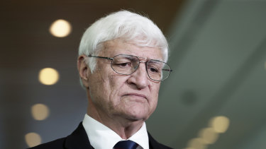 Crossbench MP Bob Katter.