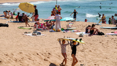 Friday is shaping up to be a day for the beach in Sydney, with a coastal high of 33.