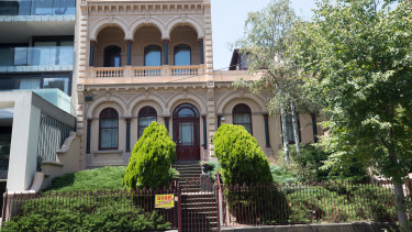 Eblana, the grand house built for Young and Jackson's co-founder Thomas Jackson in 1883.