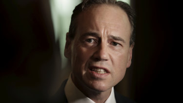 "Federal Health Minister Greg Hunt: ""Every life lost to suicide is a tragedy."""