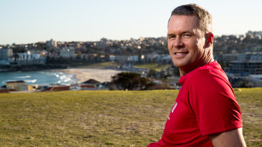 Tom Williams will be running in City2Surf to raise money for the Westpac rescue helicopter.