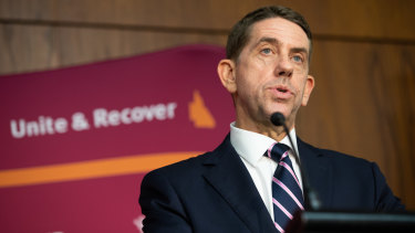 Queensland Treasurer Cameron Dick hands down his first budget.