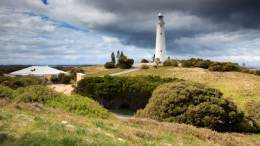 Wadjemup Lighthouse on Rottnest Island.