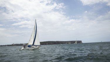 The weather was perfect for the Sydney to Hobart - but COVID-19 meant the race was called off for the first time.