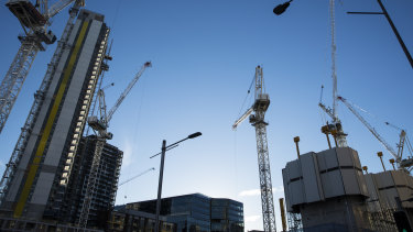 Australia's building industry is facing a  supply problem in the current coronavirus crisis.