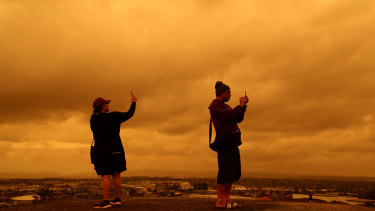 Auckland has also been blanketed by smoke from the Australian bushfires.