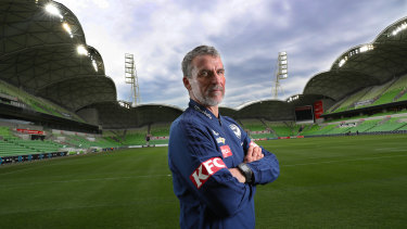 Marco Kurz game in charge of Melbourne Victory on Wednesday night.