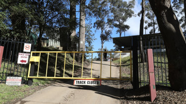 Wollongong Motorcycle Club's Mount Kembla motocross complex is closed following the death of a rider on Sunday morning.