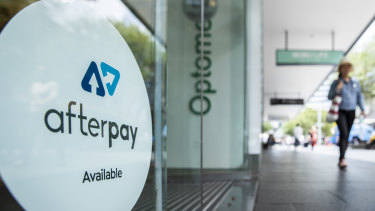 Afterpay is down more than 4 per cent on Wednesday.