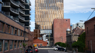 Work on developer Grocon's only Melbourne project - the Northumberland development, a 12-level inner-city office in Collingwood - has ground to a halt and the company has called in administrators