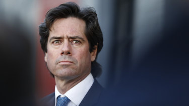 AFL CEO Gillon McLachlan said the record ticket numbers showed Perth's appetite for demand.