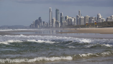 Queensland's Gold Coast is one of several areas that S&P Global fears could feel the brunt of the coronavirus recession.